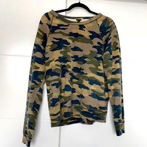 Camo print sweater *Final Week*